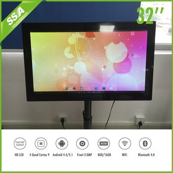 32 Inch Led Android Smart Tv Ir Multi Touch Desktop Computer Wide ...