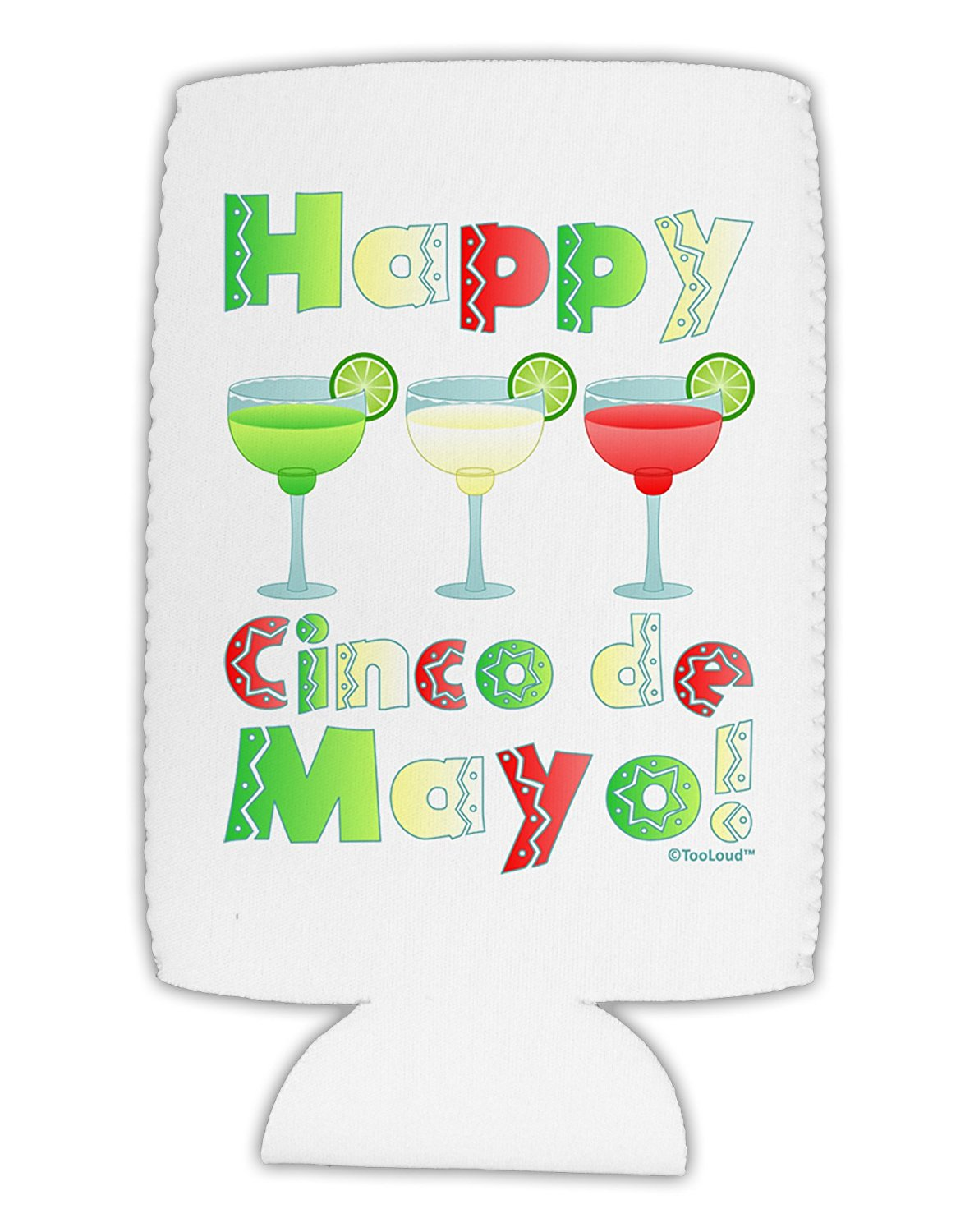 buy tooloud margaritas mexican flag colors happy cinco de mayo