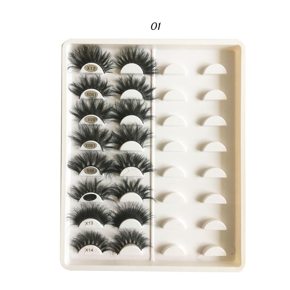 Best Chinese vendor wholesale private label 3d mink eye lashes