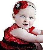 Smile Lovely Baby Girls Headbands Rhinestone Flower Headbands For Girls Infant Hair Band for kids HB319