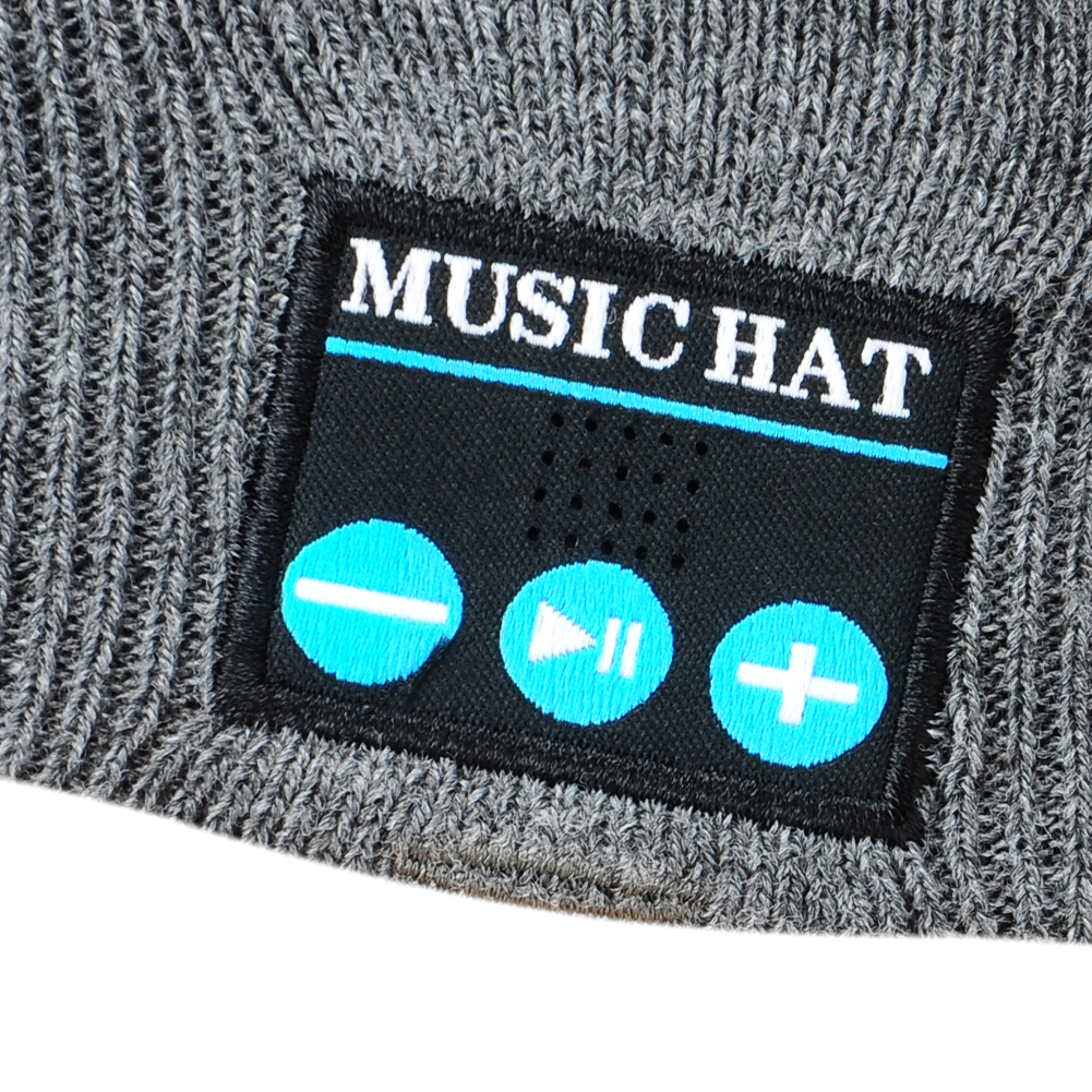 Wireless music beanie hat Smart Caps Headset earphone Warm Beanies with Speaker Mic for Outdoor sports