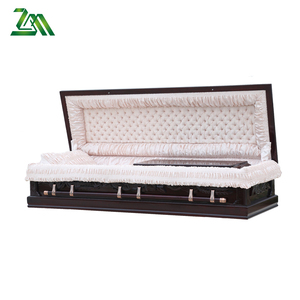 Solid Wooden Funeral coffin and caskets