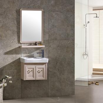 2018 Best Price Sanitary Ware Bathroom Furniture Product Cabinet Aluminum Makeup Vanity Box With Lock