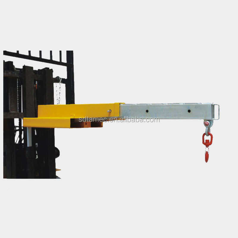 Forklift attachment Crane Jib