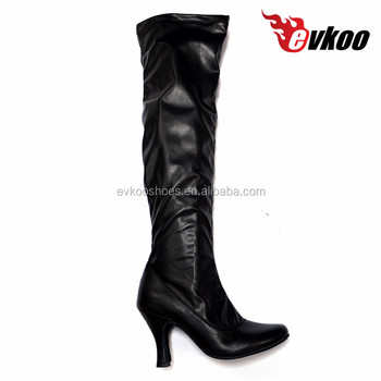 suede sole dance boots