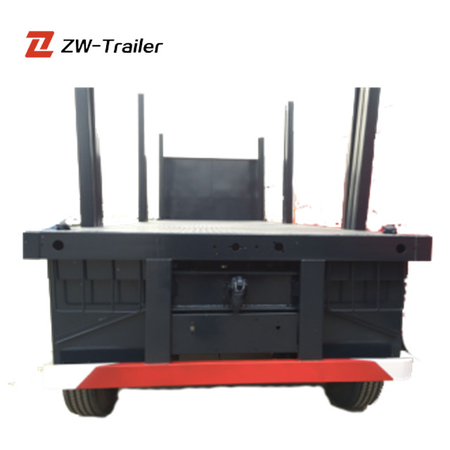 Cheap Price 3 Axle Log Wood Transport Trailer Truck