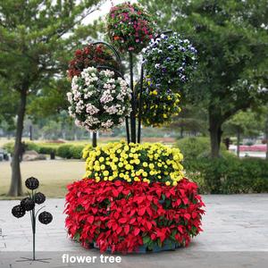 Christmas Flower Pots.Christmas Tree Planter Garden Decoration Flower Pots Cheap Garden Planters And Pots