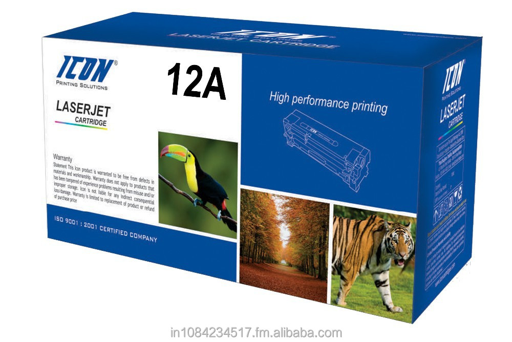Ikon 12a laser toner cartridge