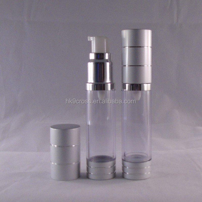 High quality plastic bottle cosmetics spray bottle airless pump bottle wholesale