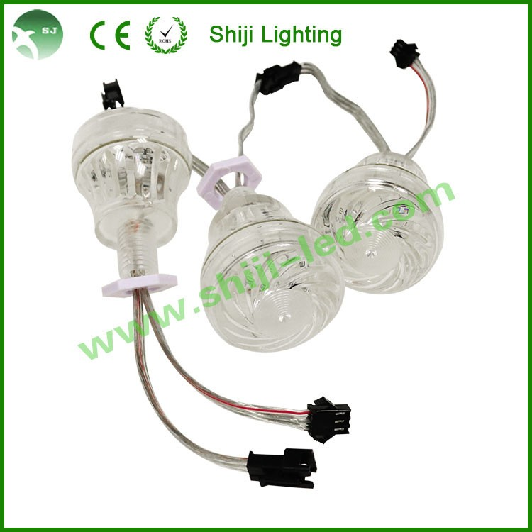 30mm led pixel pointlight ws2801 led lamp for outdoor decoration