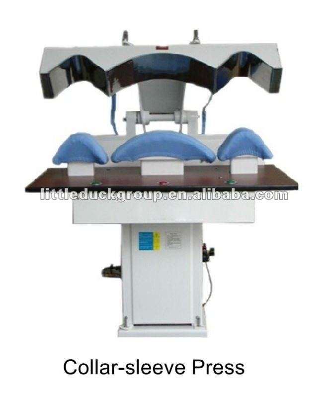 Steam Laundry Press Machine for collar and sleeve