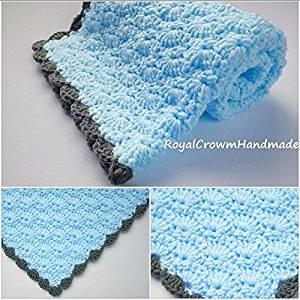 Buy Baby Boy Blanketbaby Boy Blanket Crochetbaby Blanketcrochet