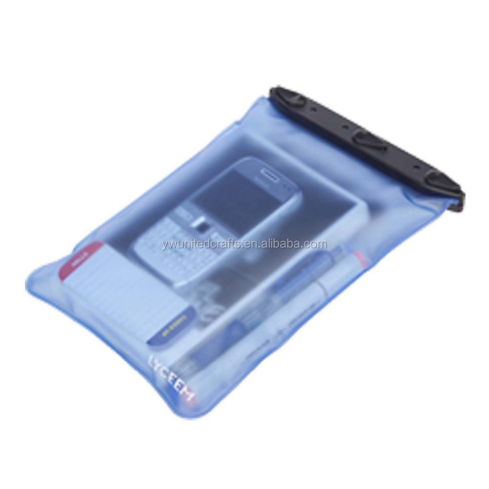 PVC Waterproof Cell Phone Bag For Swimsuit With IPX8 Certificate