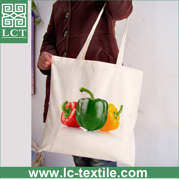 wholesale high quality custom full color photo grahic hot stamping organic cotton string bag for shopping(LCTB0132)