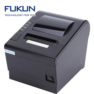 80mm Thermal Bill Receipt Printer Support multilingual print USB compatible POS terminal