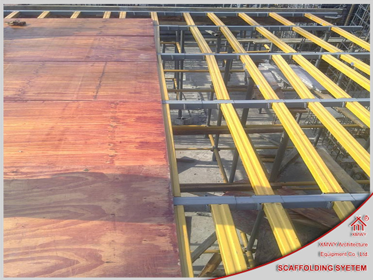 Scaffolding And Shuttering : Concrete formwork system aluminum beam