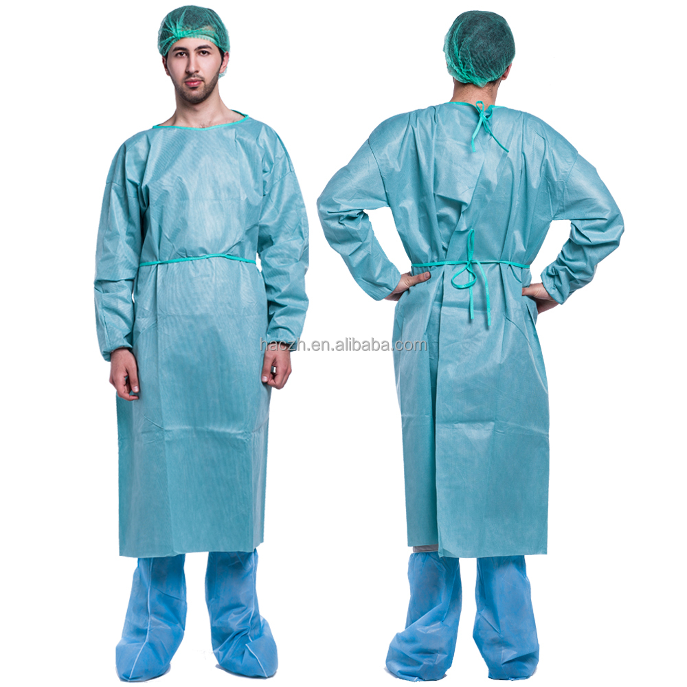 Green Disposable Surgical Gown, Green Disposable Surgical Gown ...