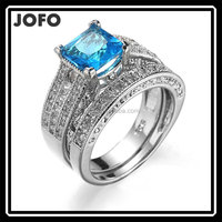 Engagement Jewelry Ring Platinum Plated With AAA Cubic Zirconia Wholesales Ring