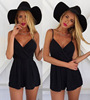Hot Summer Holiday Beach Jumpsuit Women dresses One piece Girl Party Dress Apparel Clothing Online Shopping Cheaper Playsuit