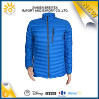 Top sale custom waterproof winter light weight shiny down jacket
