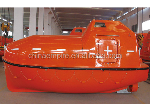 Frp Solas Tanker Dry Cargo Version Totally Enclosed Boat Lifeboat ...