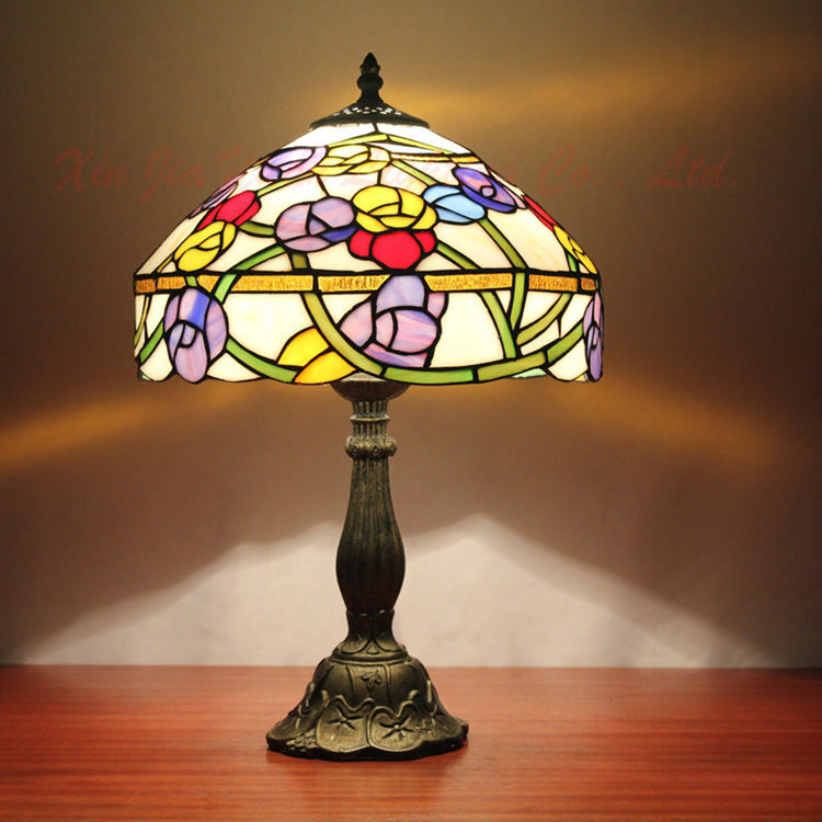 buy white bowl shade 16 inch flush mount ceiling light tiffany stained glass style at. Black Bedroom Furniture Sets. Home Design Ideas