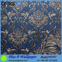 2017 Hot sale luxury interior decor 3D wallpaper for office