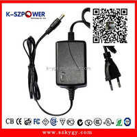 C-series 12W 100-240v ac to dc switching power adapter 12v 1a cctv power supply with 2 years warranty