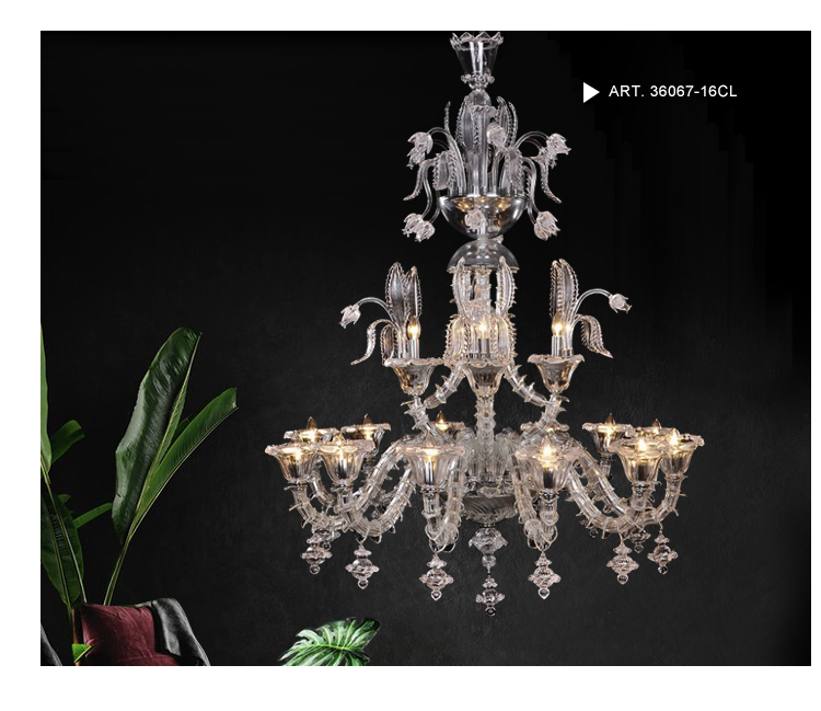 Murano Blown Glass Chandeliers Sale