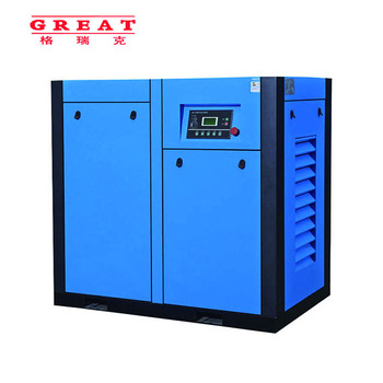 160kw 215hp 8bar 116 psig 27.1m3/min 958cfm easy operation and maintenance industry rotary screw air compressor