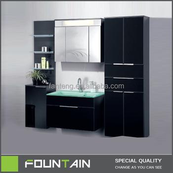 Complete Bathroom Vanity Sets.Wall Mounted Bathroom Vanity Furniture Hot Sale Oak Wood Bathroom Cabinet Plywood Bathroom Furniture Vanity With Glass Basin Buy Vanity With
