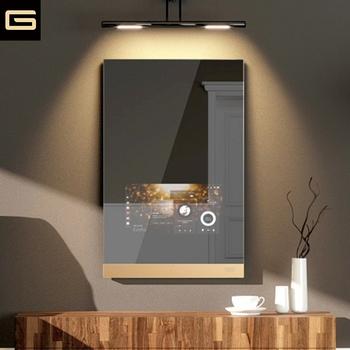 Publicité Androïde Intelligent De Salle De Bains Miroir Tactile Wifi Avec  Caméra Bluetooth Zigbee - Buy Miroir Intelligent Publicitaire,Miroir ...
