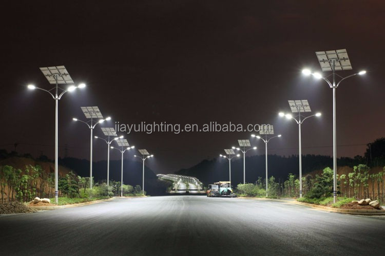 30ft Galvanized Steel Electric Pole Led Street Antique Lighting ...