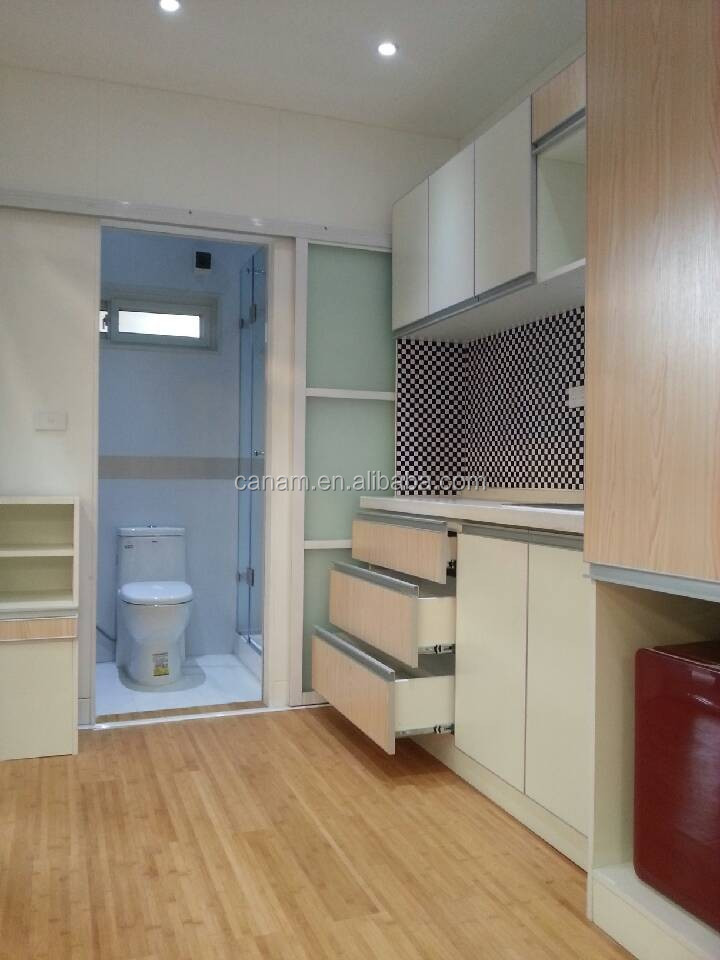 Hot sale low cost container house in Ghanaes