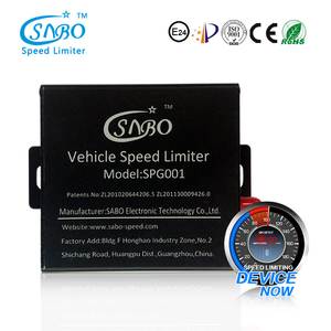 Vehicle electronic speed limiter device with throttle controller for  cars/trucks/school buses