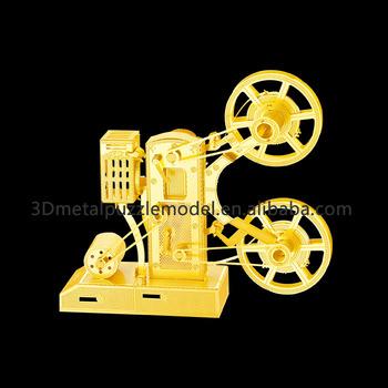 Metallic Puzzle Diy Musical Instrument Movie Projector 3d