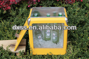 Food Fresh Drink Cool Resurable Metal Cooler Wine Holder