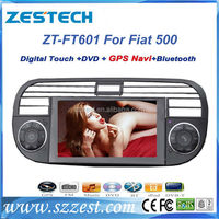 ZESTECH In-dash car dvd player Built in GPS For Fiat 500 with DVD/CD/Mp3/Mp4/Radio/RDS/GPS