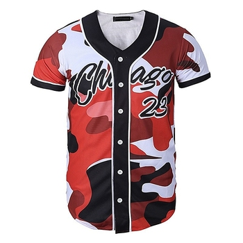 Professional design stylish baseball jersey sewing pattern baseball jersey custom