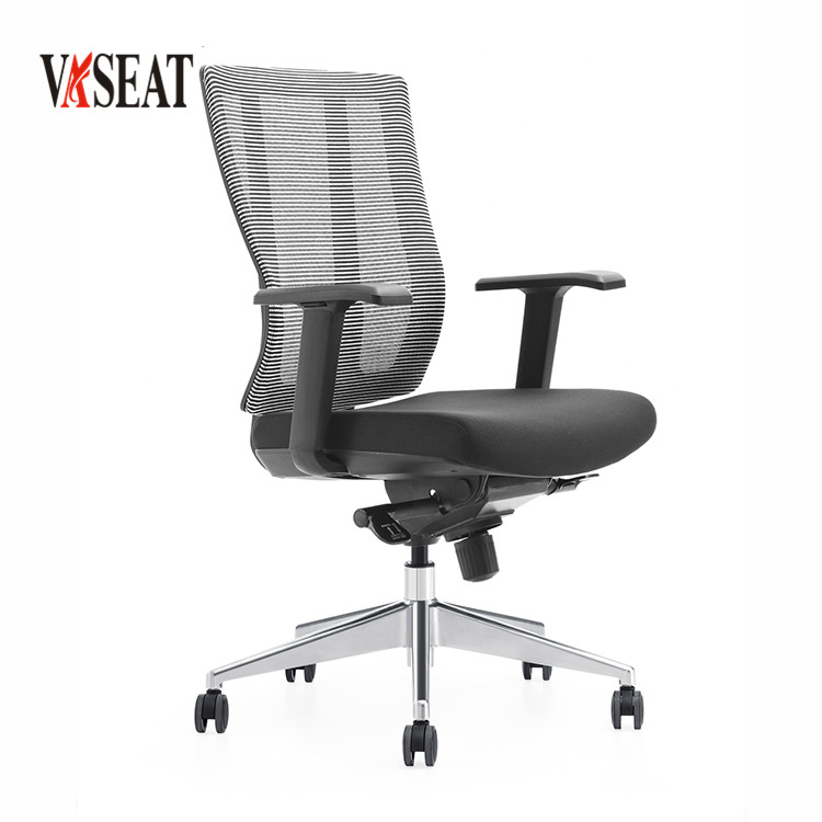 New Modern Swivel Mechanism Wheeless Office Chair For Workstation Product On Alibaba