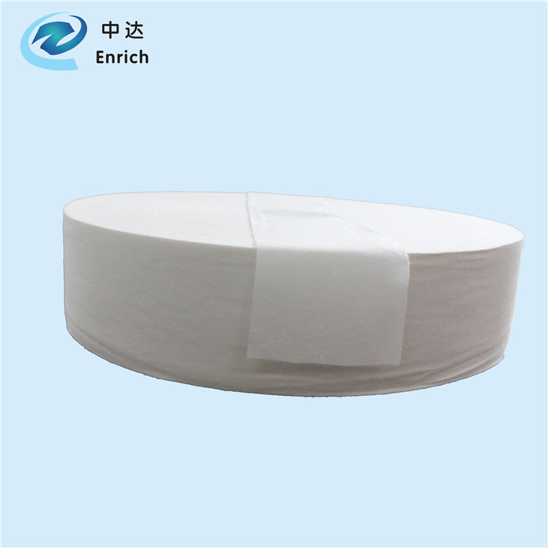 2018 whosale airlaid paper raw material for woman sanitary napkin