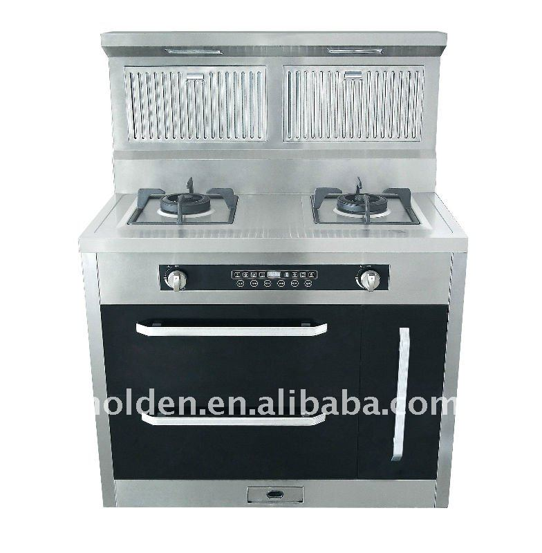 perfect integrated 2 burner gas stove home appliance