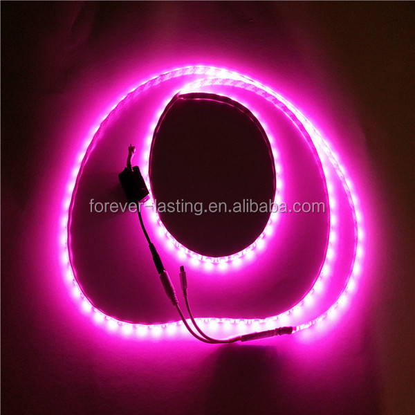 ce rohs dc12v led strip,3M Adhesive attached 5050 battery operated led strip lighting for indoor & outdoor decoration