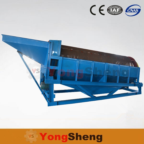Sand Alluvial Gold Processing Plant Trommel Screen