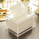 Custom clear acrylic napkin holder/napkin holder for restaurant/car napkin holder