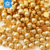 Gold Color Plastic ABS half round flatback pearls use for nail art