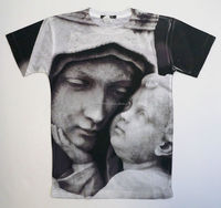 Custom Religious Sublimated Printed Street wear Shirt/High Quality Printed T Shirt