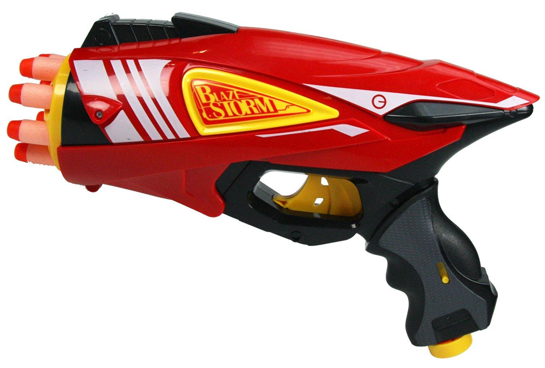 X Terminator Tek 6 Rotating Barrel Dart Gun Foam Dart Blaster