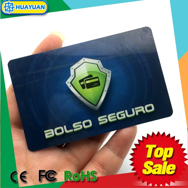 Rfid Scanning Prevention Rfid Blocking Card To Protect Information ...