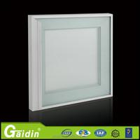 Gaidin aluminum cabinet door frame glass inserts for kitchen cabinet design Foshan material